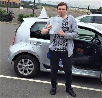 Farnborough Driving Test Pass for Richard Ebel