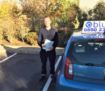Farnborough Driving Test Pass for Ryan Hunt