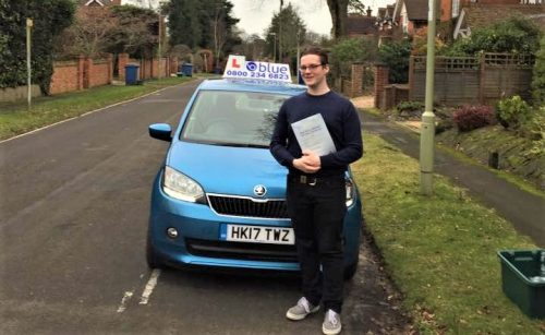 Farnborough Driving Test for Frank Turley