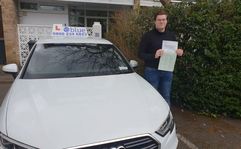 Farnborough Driving Test for Lloyd