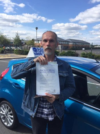 Farnborough Driving Test for Richard