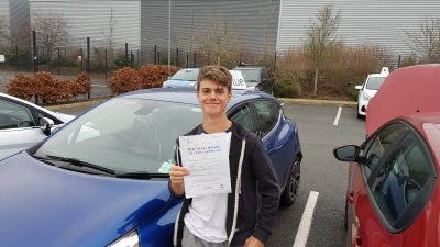 Farnborough Driving Test pass Ben harrison-badham