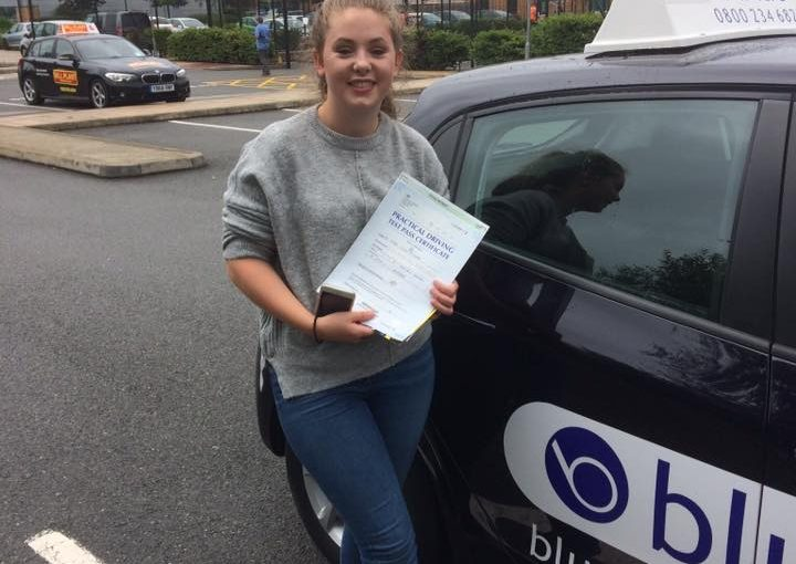 Congratulations to Bethaney Pritchard passed her Driving test today at Farnborough