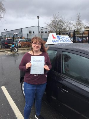 Farnborough Driving Test pass for Sophie