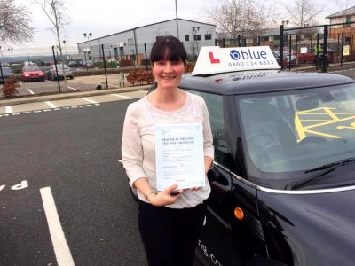 Farnborough Driving Test pass for Sue Keats