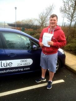 Tom from Farnham, Hampshire - Blue Driving School