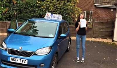 Finchampstead Driving Lessons for Amy Beresford