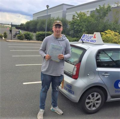 Fleet Driving Lessons for Luke Sherman
