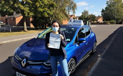 Frome Driving Test Pass for Beatriz Marques