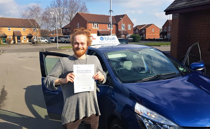Frome Driving Test pass for Caspar White