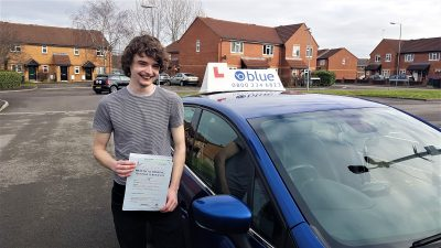 Frome Driving Test pass for Ben Chant