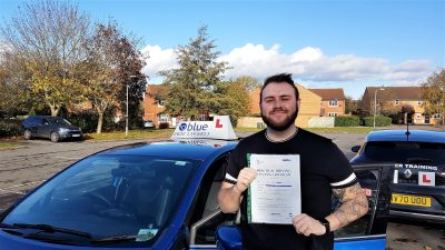 Frome Driving Test pass for Cain Ward