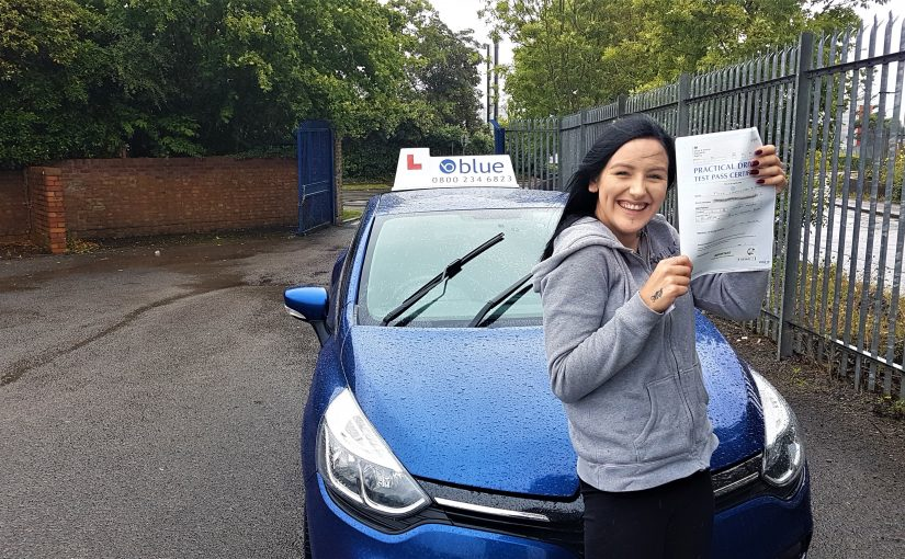 Frome Driving Test pass for Charlotte Smart