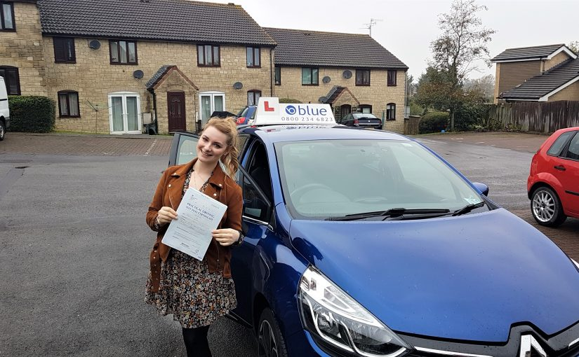 Dandy Smith of Frome in Somerset passed her driving test FIRST TIME