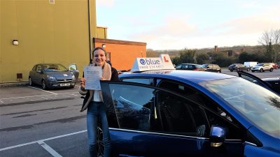 Frome Somerset Driving Test pass for Louisa Marsh