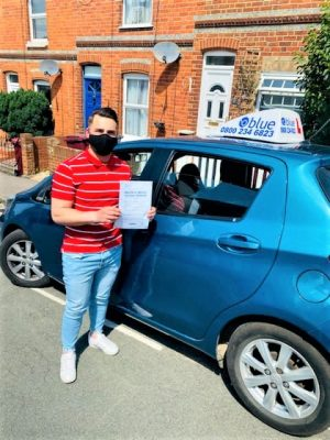 Iulian Fartarde from Reading passed