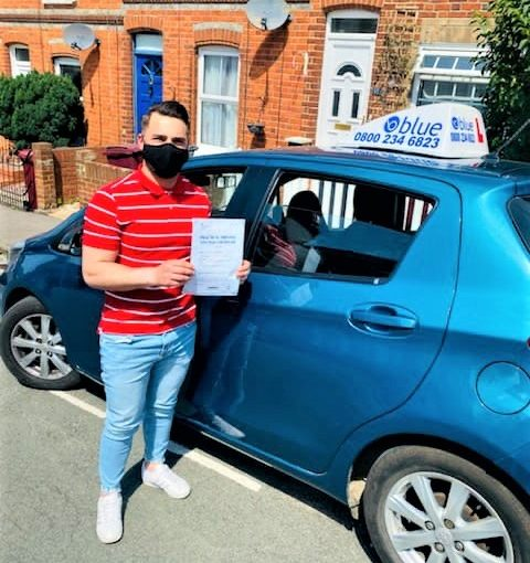 Reading Driving test pass for Iulian Fartarde