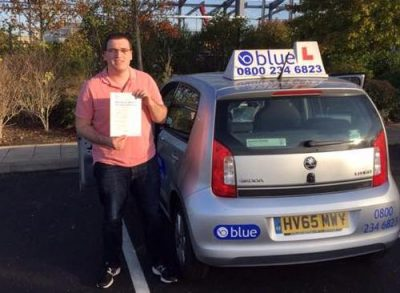 Driving Test Pass for James Lewis
