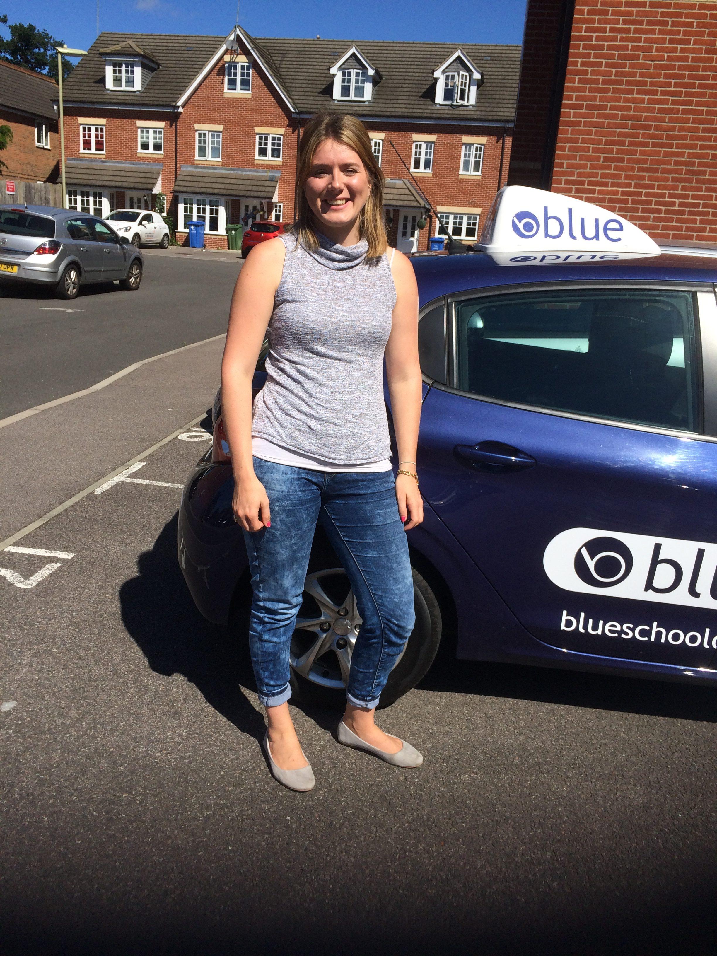 Driving Test in Farnborough Joanna from Aldershot