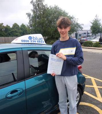 Josh Oughton from Wokingham Passed Driving Test