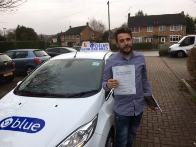 driving test slough Joshua Froude