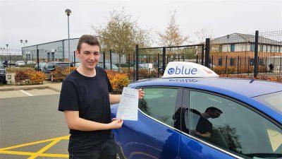 Lightwater Driving Test Pass for Ben Tuson