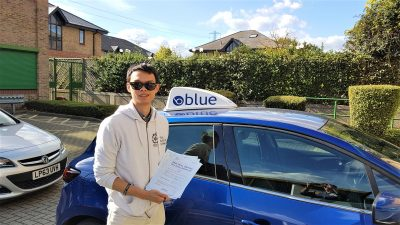 Lightwater Driving Test Pass for Thomas To