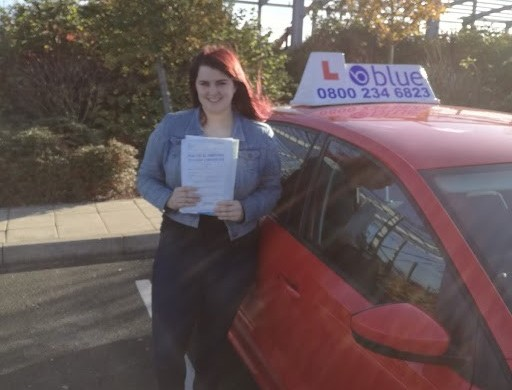 Congratulations to Lizzy Nevell who passed her driving test today at Farnborough with no driving faults