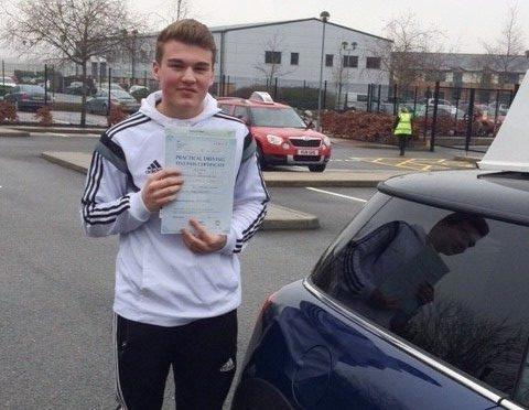 Driving Test pass for Matt Nower