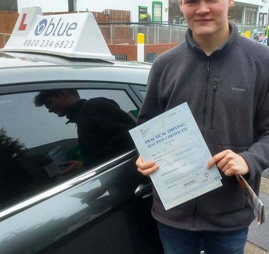 Congratulations to Max Head of Wokingham on a first time pass at Reading
