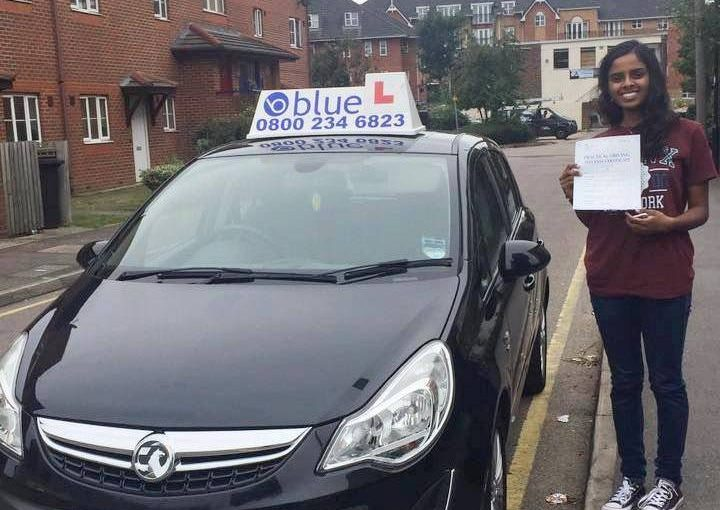 Driving Lessons in Slough forMeena