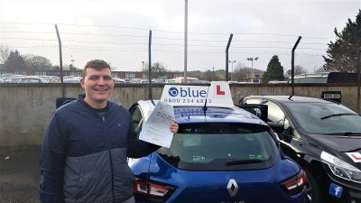 Midsomer Norton Test Pass for Stuart McDougall