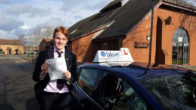 Norton St Phillip Driving Test Pass for Greg Harden