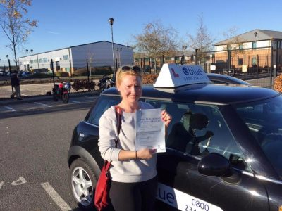 Farnborough driving test for Persa
