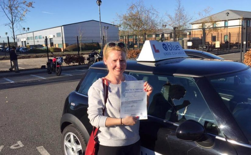 Congratulations to Persa who passed her driving test this morning in Farnborough with NO faults