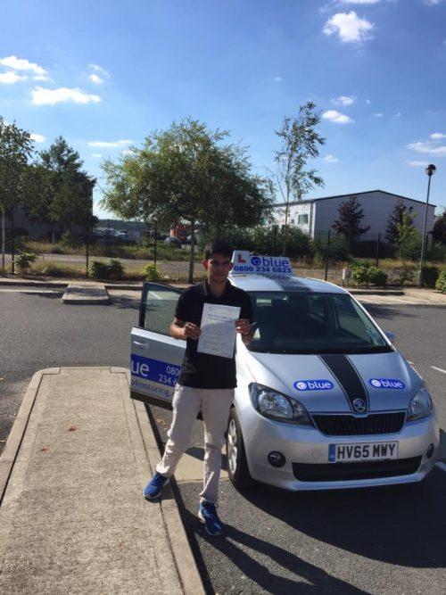 farnborough driving test for Praveen Premaratne