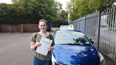 Radstock Driving Test Pass for Anya Gould