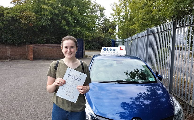 Congratulations Anya Gould from Radstock,Somerset who passed her driving test
