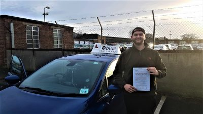Radstock Driving Test Pass for Finn Evans-Johnson