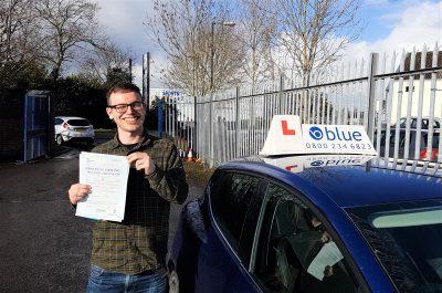 Radstock Driving Test Pass for Kairon Dunbar-Bradley
