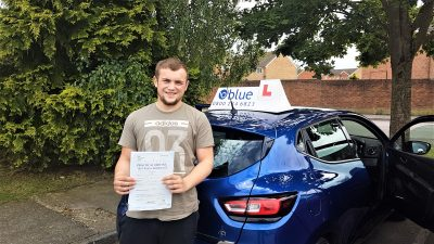 Radstock Driving Test Pass for Miles Tucker