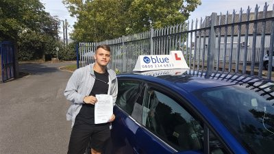 Radstock Driving Test Pass for Reece Bryant