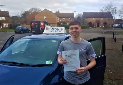 Radstock Driving Test pass for Mason Harrison