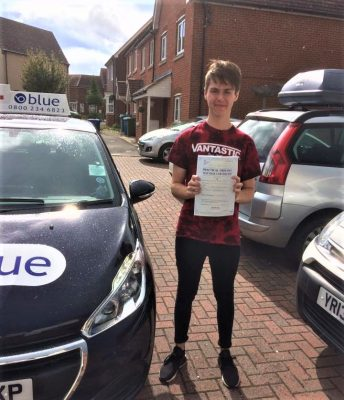 Reading Driving Lessons for Aidan Rudd-Hirst