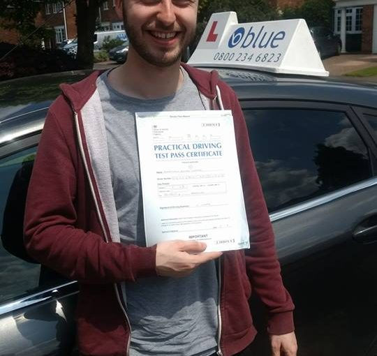 Jonny Drake from Wokingham on a great first time pass at Reading