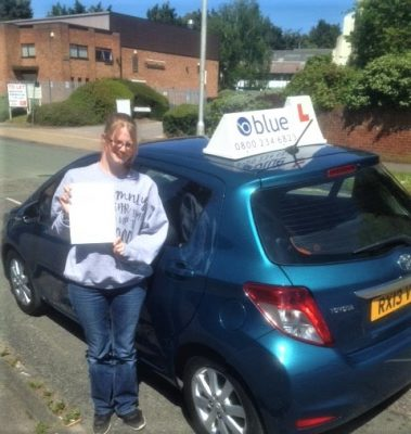 Reading Driving Test Pass Siobhan Street
