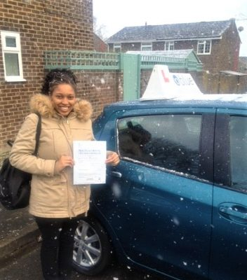Reading Driving Test Pass for Chloe Roberts