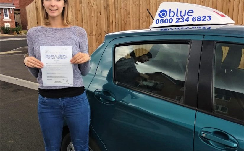 Reading Driving Test Pass for Emily Miller