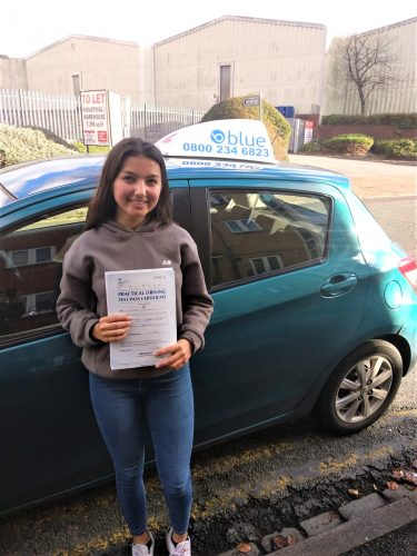 Reading Driving Test Pass for Julie Mortimer