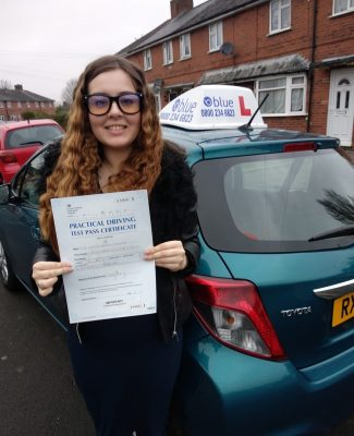 Reading Driving Test Pass for Katie Crocker